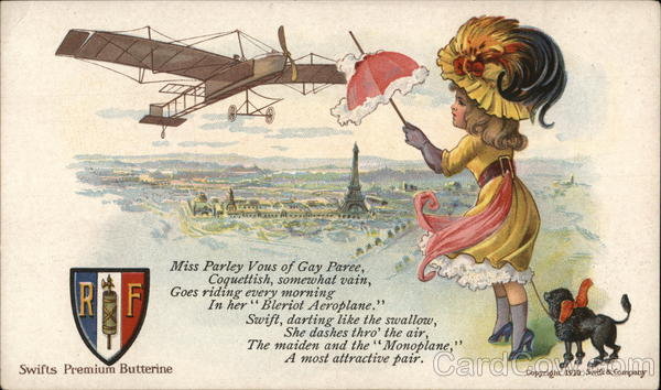 Swifts Premium Butterine Advertising Aircraft