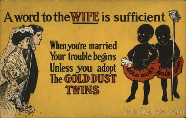Gold Dust Twins Advertising