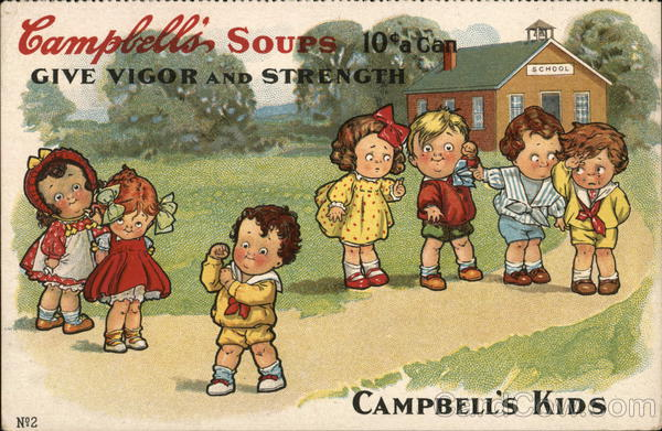 Campbell's Soups Camden New Jersey Advertising
