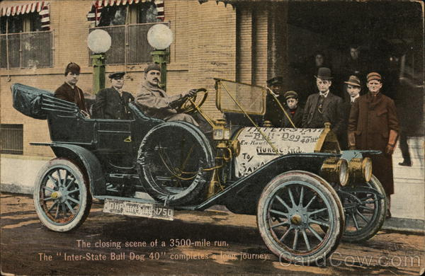 Bull Dog 40, Inter-State Automobile Company Muncie Indiana
