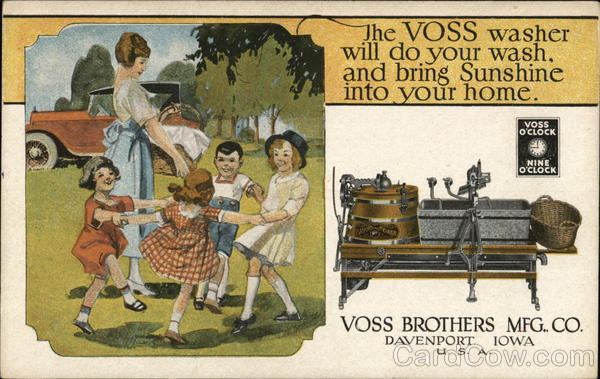 Voss Brothers Manufacturing Company Davenport Iowa
