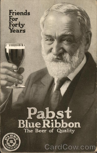 Pabst Blue Ribbon Milwaukee Wisconsin Advertising