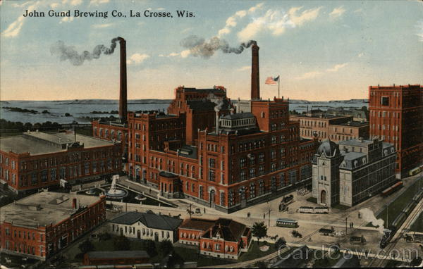 John Gund Brewing Co. La Crosse Wisconsin Advertising