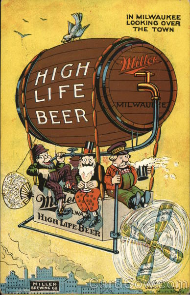 Miller Brewing Company Milwaukee Wisconsin Advertising
