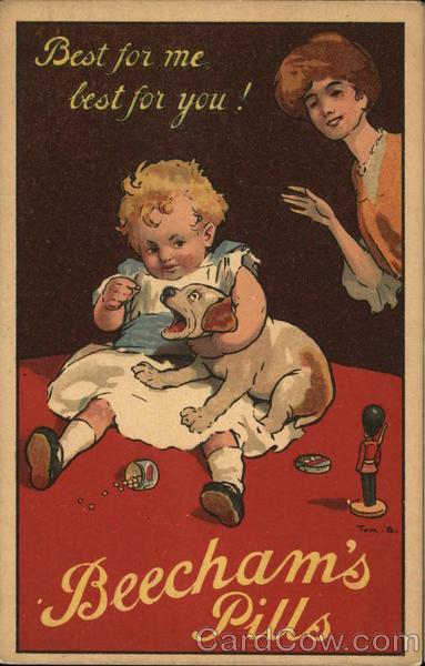 Beecham's Pills - Best for me best for you! Advertising