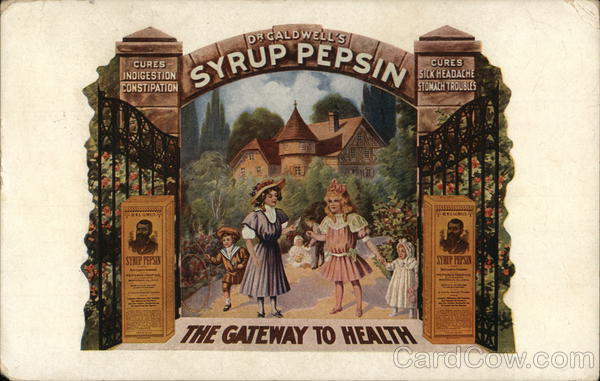 Dr. Caldwell's Syrup Pepsin - TheGateway to Health