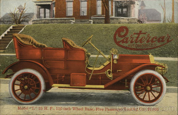 Cartercar Automobiles - Cruzan & Co. General Agents Des Moines Iowa