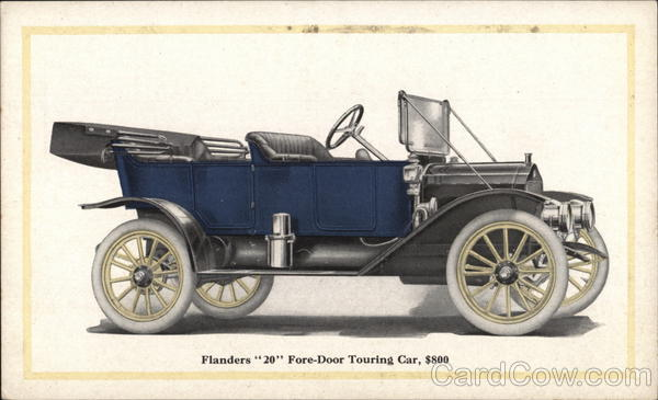 Flanders 20 Fore-Door Touring Car Detroit Michigan