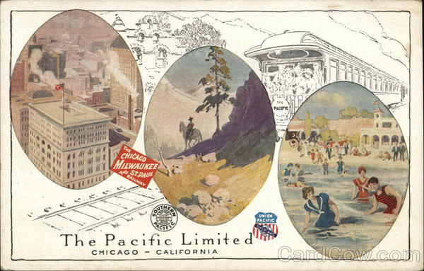 The Pacific Limited Trains, Railroad