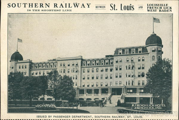 Southern Railway St. Louis Missouri Trains, Railroad