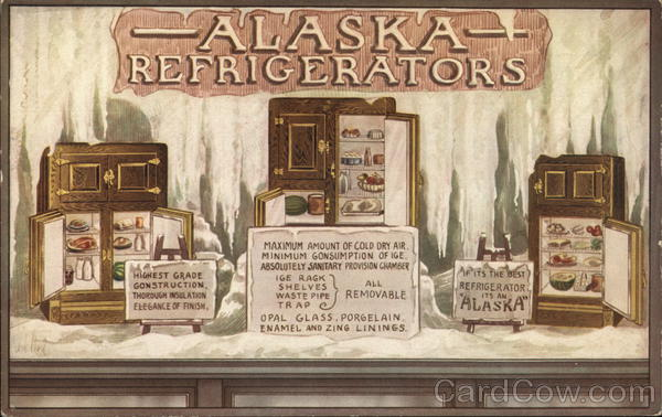 Alaska Refrigerators - Orr & Lockett Hardware Co. Chicago Illinois