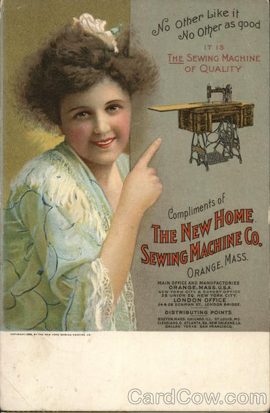 The New Home Sewing Machine Co. Orange Massachusetts