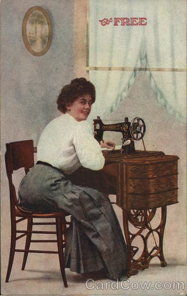 The Free - Starling sewing machine Advertising