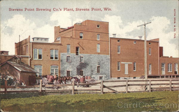 Stevens Point Brewing Co.'s Plant, Stevens Point, WIS Wisconsin