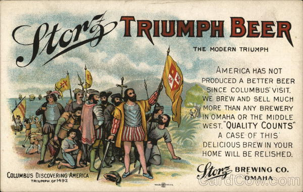 Storz Triumph Beer Omaha Nebraska Advertising Breweriana