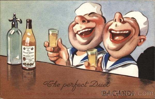 The perfect Duet Bacardi Advertising Drinking