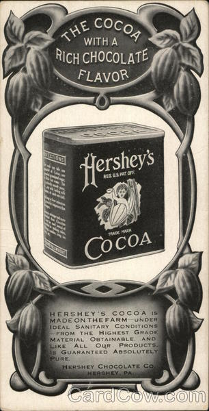 Hershey's Cocoa Pennsylvania Advertising