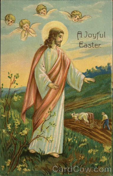 Harrisburg Post Card Company - A Joyful Easter Pennsylvania
