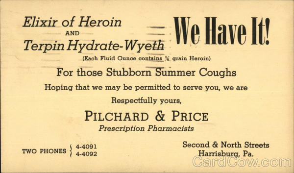Pilchard and Price Prescription Pharmacists Harrisburg Pennsylvania