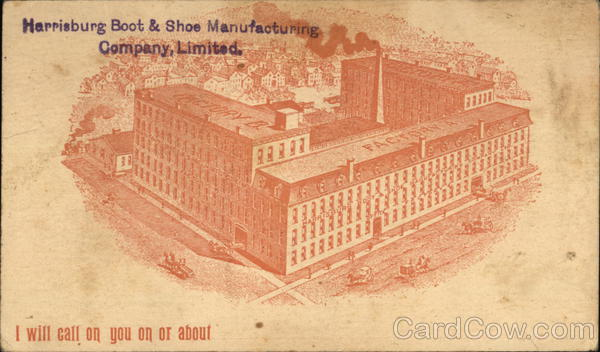 Harrisburg Boot & Shoe Manufacturing Company, Limited Pennsylvania