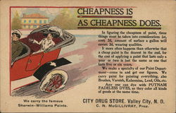 City Drug Store Cheapness is as cheapness does.