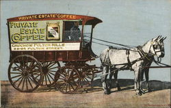 Private Estate Coffee Delivery Wagon