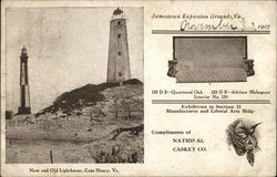 New and Old Lighthouse