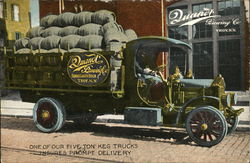 Quandt Brewing Co. Keg Delivery Truck