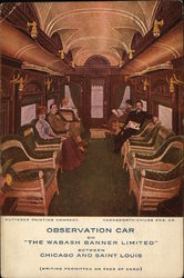 The Wabash Banner Limited Observation Car