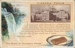 The Home of Shredded Wheat Postcard