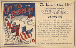"""On to Berlin"" Published by I.C. Crisler"