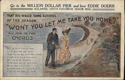 Won't You Let Me Take You Home? - Eddie Doerr