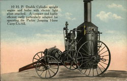 Combine Engine & Boiler by C.W. Parker