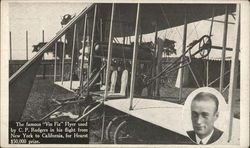 Vin Fiz Flyer used by C.P. Rodgers - Manufactured by Wright Bros.