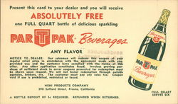 Nehi Products company - Par T Pak Beverages Coupon