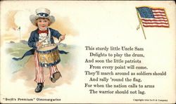 Swift's Premium Oleomargarine - Uncle Sam poem