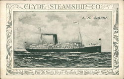 Clyde Steamship Co. S.S. Apache