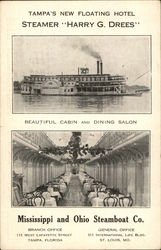 "Steamer ""Harry G. Drees"", Mississippi and Ohio Steamboat Co."