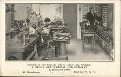 S. Stern, Optometrist and Optician - Established 1860 Postcard