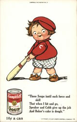 Campbell's Soups Kid - 10 cents a can Postcard