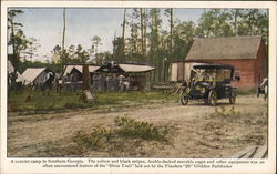 "A Convict Camp in Southern Georgia, Flanders ""20"" Automobile"
