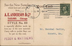 E. A. Anderson and Company, Tailors
