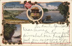 The Chicago Milwaukee and St. Paul Railway Postcard