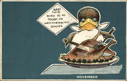 Peters Shoe Co. Weather-Bird Shoes - November Card