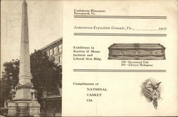 National Casket Company - Jamestown Exposition Grounds - 1907