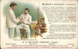 Mulford's Antitoxin, H.K. Mulford Company, Chemists