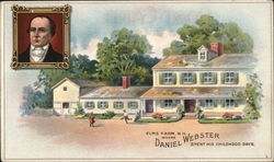 Webster Cigars - Elms Farm - Daniel Webster's childhood home