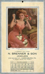 N. Brenner & Son Jewelers January 1911