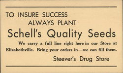 Schell's Quality Seeds / Stevers Drug Store