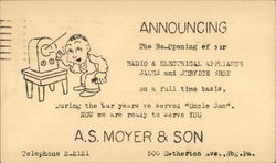 A.S. Moyer & Son Radio & Electrical Appliances